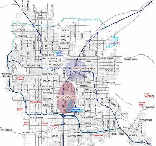 Lasvegas-streetmap