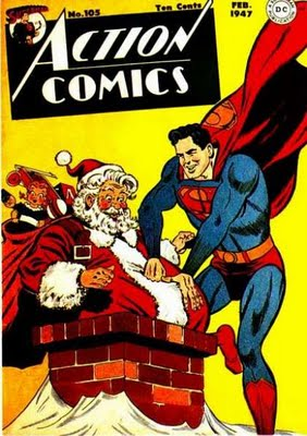 Christmas superman